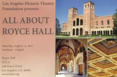 ALL ABOUT: Royce Hall