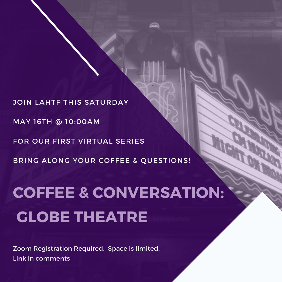 Coffee & Conversation: Globe Theatre