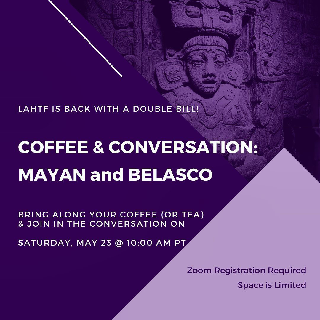 Coffee & Conversation: Mayan & Belasco Theatres