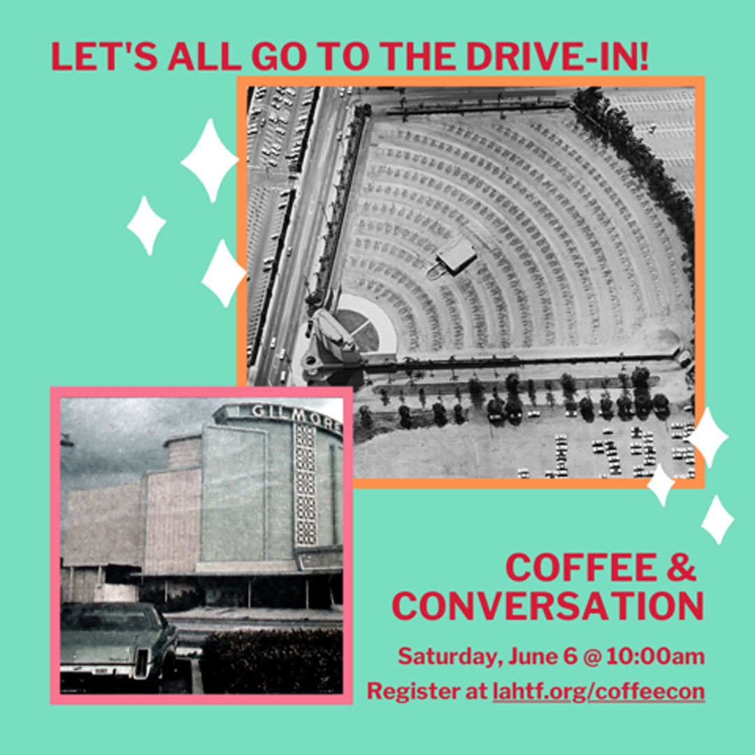 Coffee & Conversation: Let's All Go To The Drive-In!