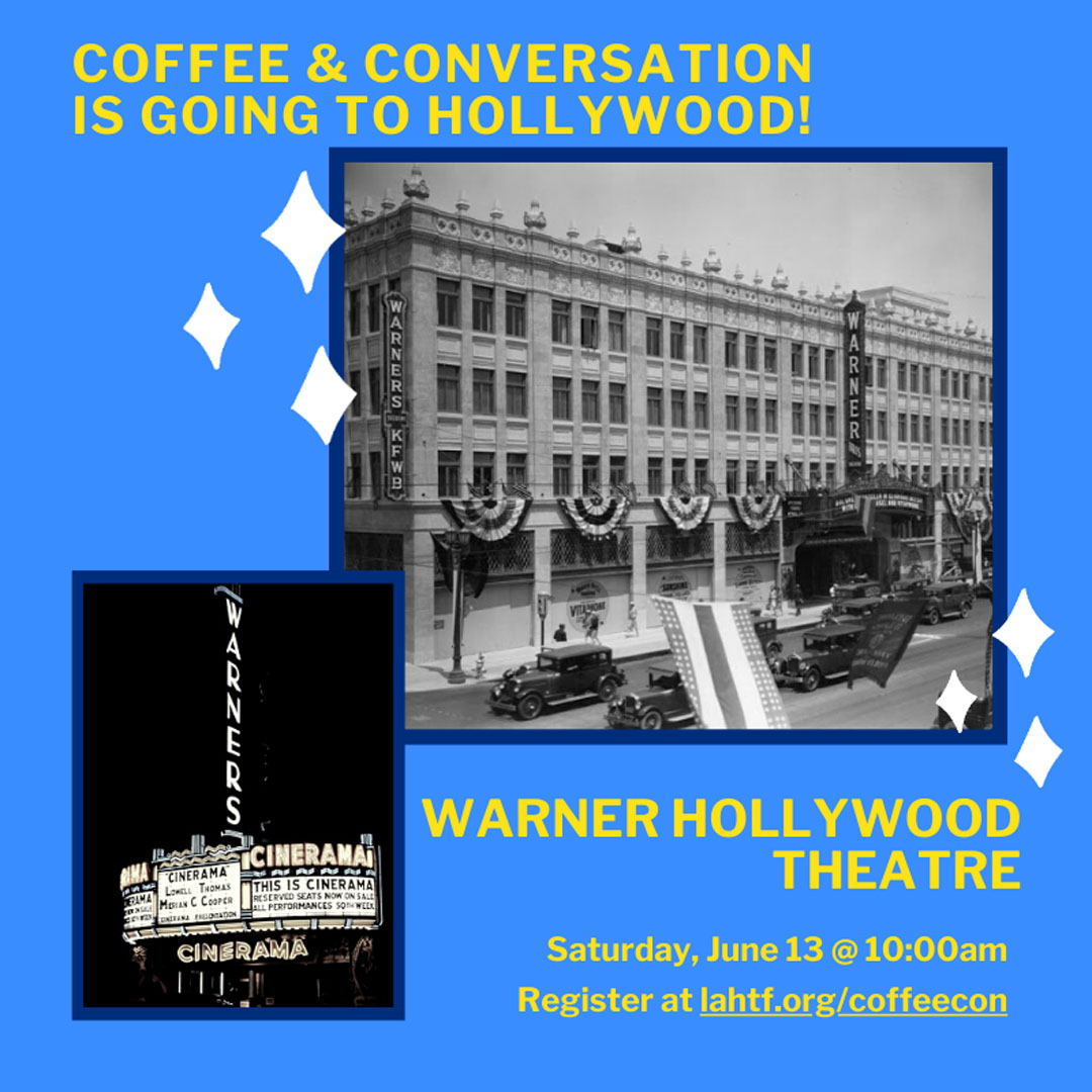 Coffee & Conversation: Hollywood Warner
