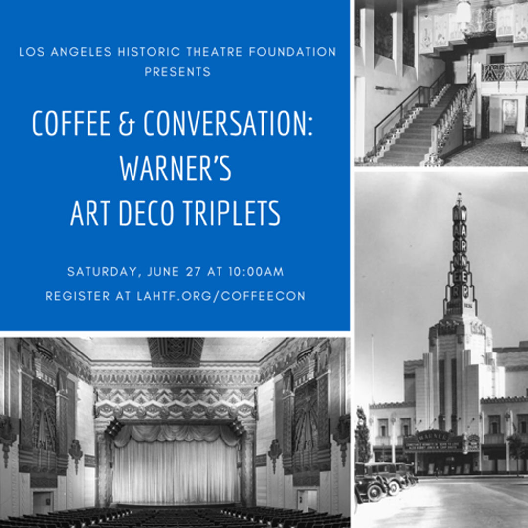 Coffee & Conversation: Warner's Art Deco Triplets