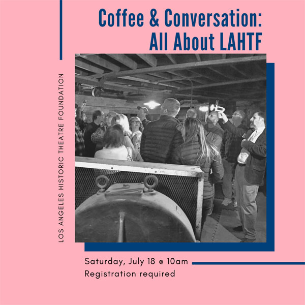 Coffee & Conversation: All About LAHTF