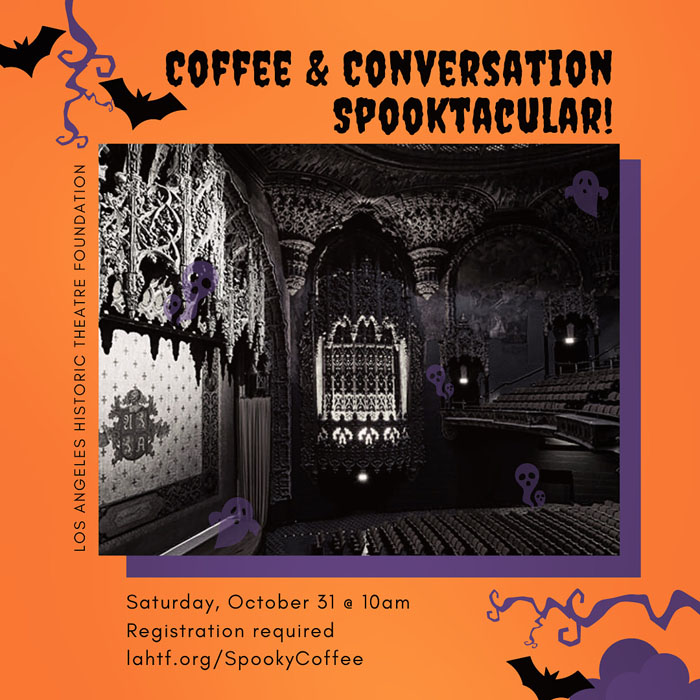 Coffee & Conversation: Halloween Spooktacular!
