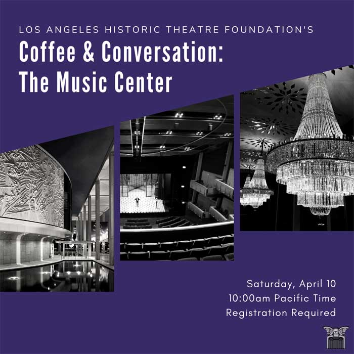 Coffee & Conversation: The Music Center