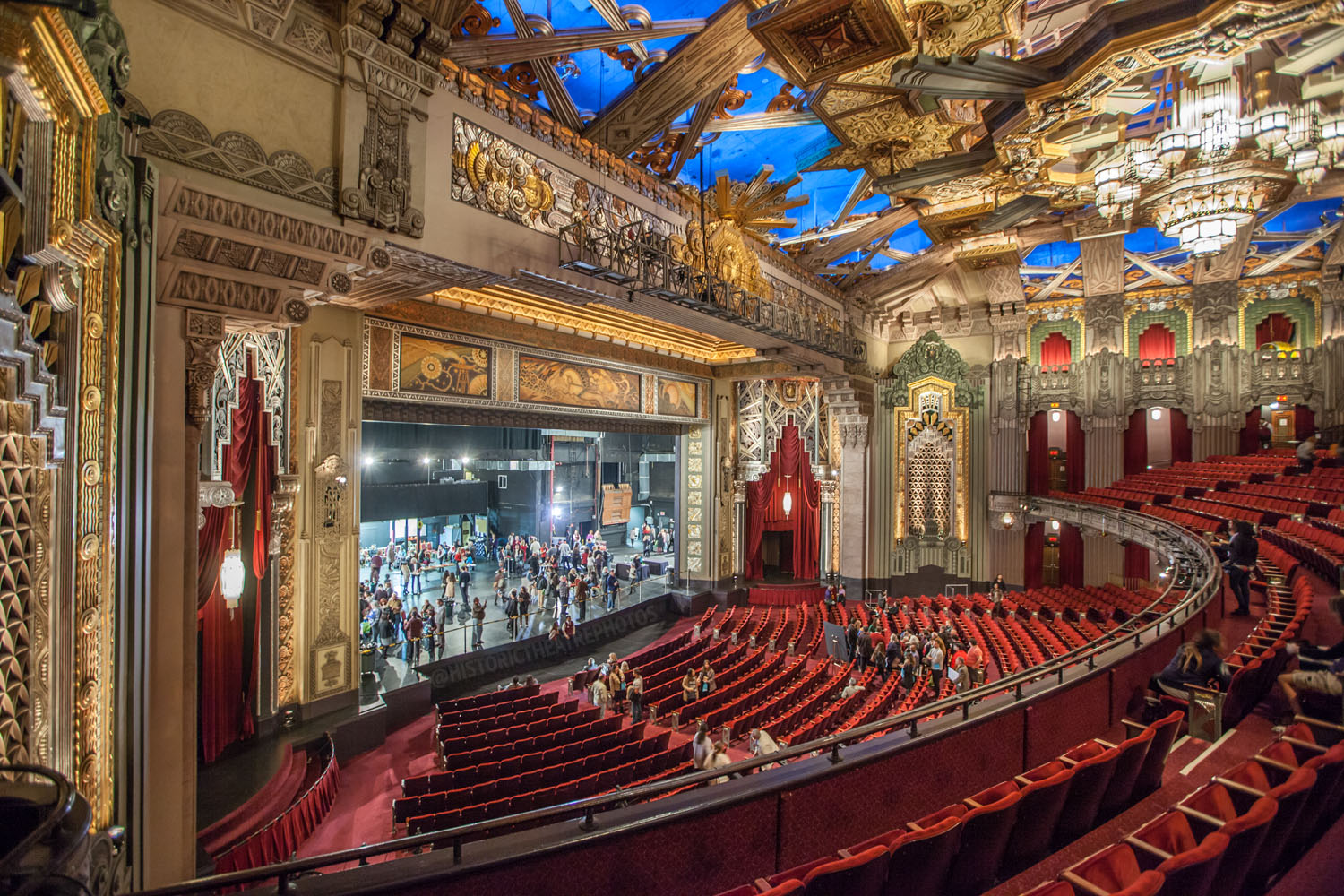 Pantages Theatre Hollywood Historic Theatre Photography