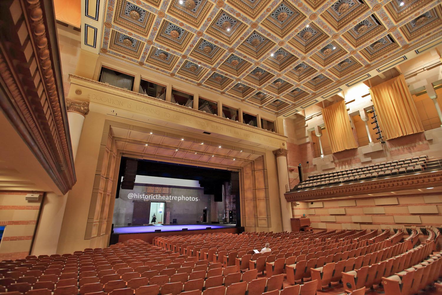 Royce Hall Westwood Historic Theatre Photography