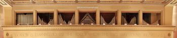Organ Pipes above Proscenium Arch