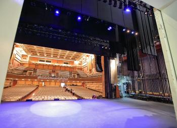 View to Stage and Auditorium from Dock Door